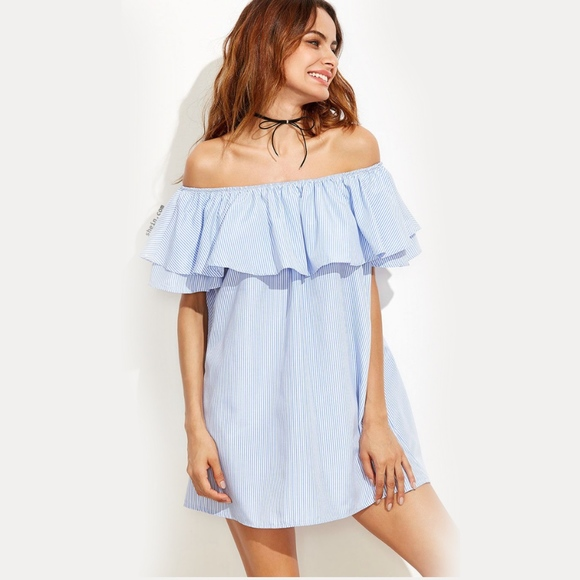 Ruffle Top Dress